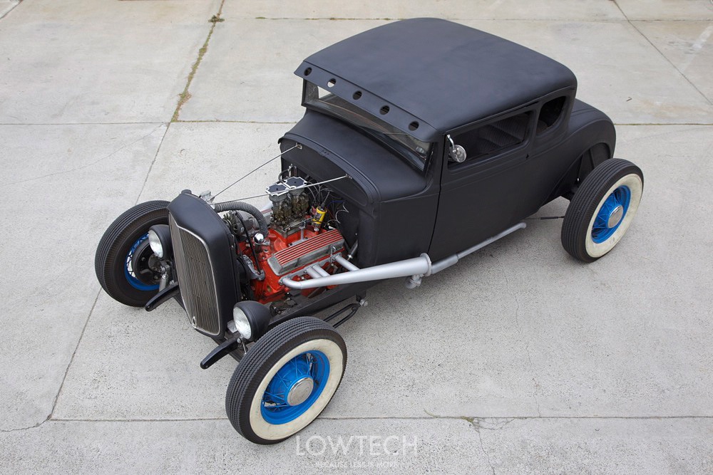 1931 Ford Model A Coupe :: Low Tech
