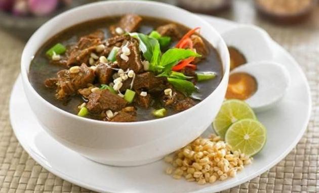 Resep rawon Daging sandung