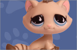 LPS Kitten Cat Figures