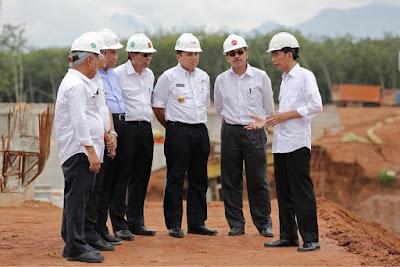 Gubernur M. Ridho Ficardo: Besok Pak Jokowi Resmikan Jalan Tol Trans Sumatera (JTTS)