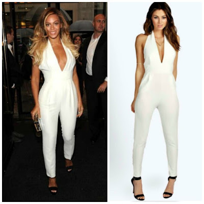 Celebrity Style for Less - Beyonce [White Jumpsuit]