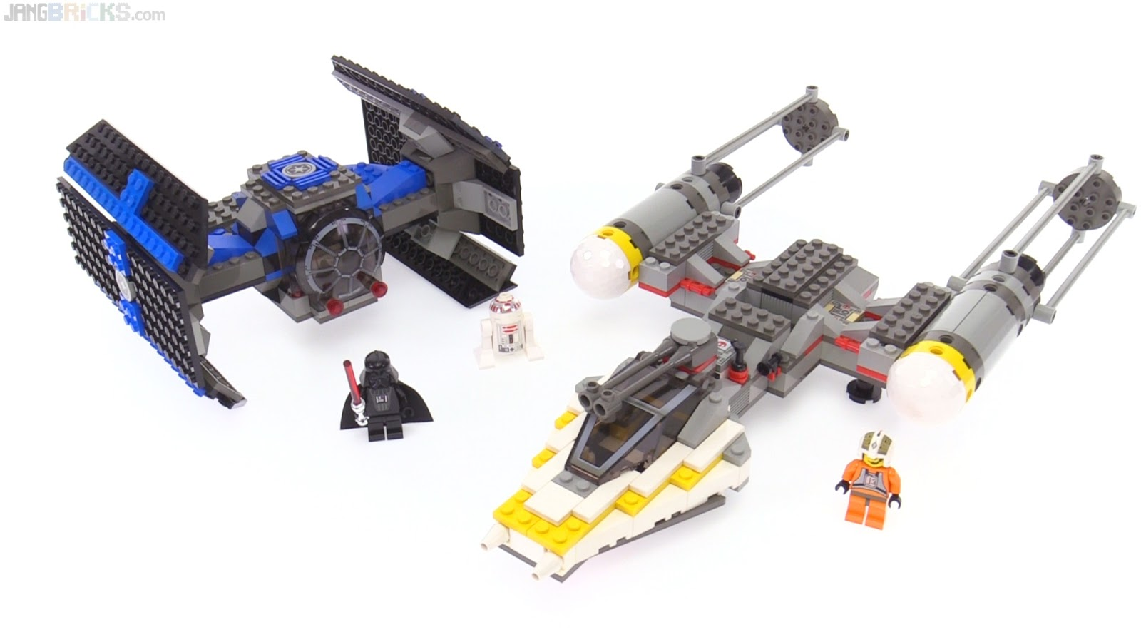 LEGO Star Wars TIE Fighter & Y-Wing from 1999 reviewed! 7150
