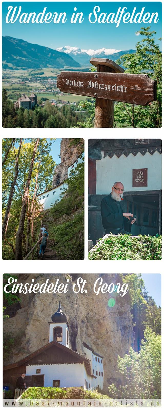 Wanderung zur Einsiedelei St. Georg bei Saalfelden  SalzburgerLand