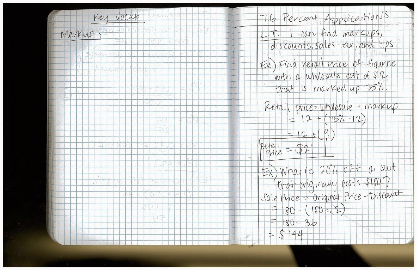 Heidemann 8th Grade Math 7th Period Pre Algebra 3 23 And 3 24