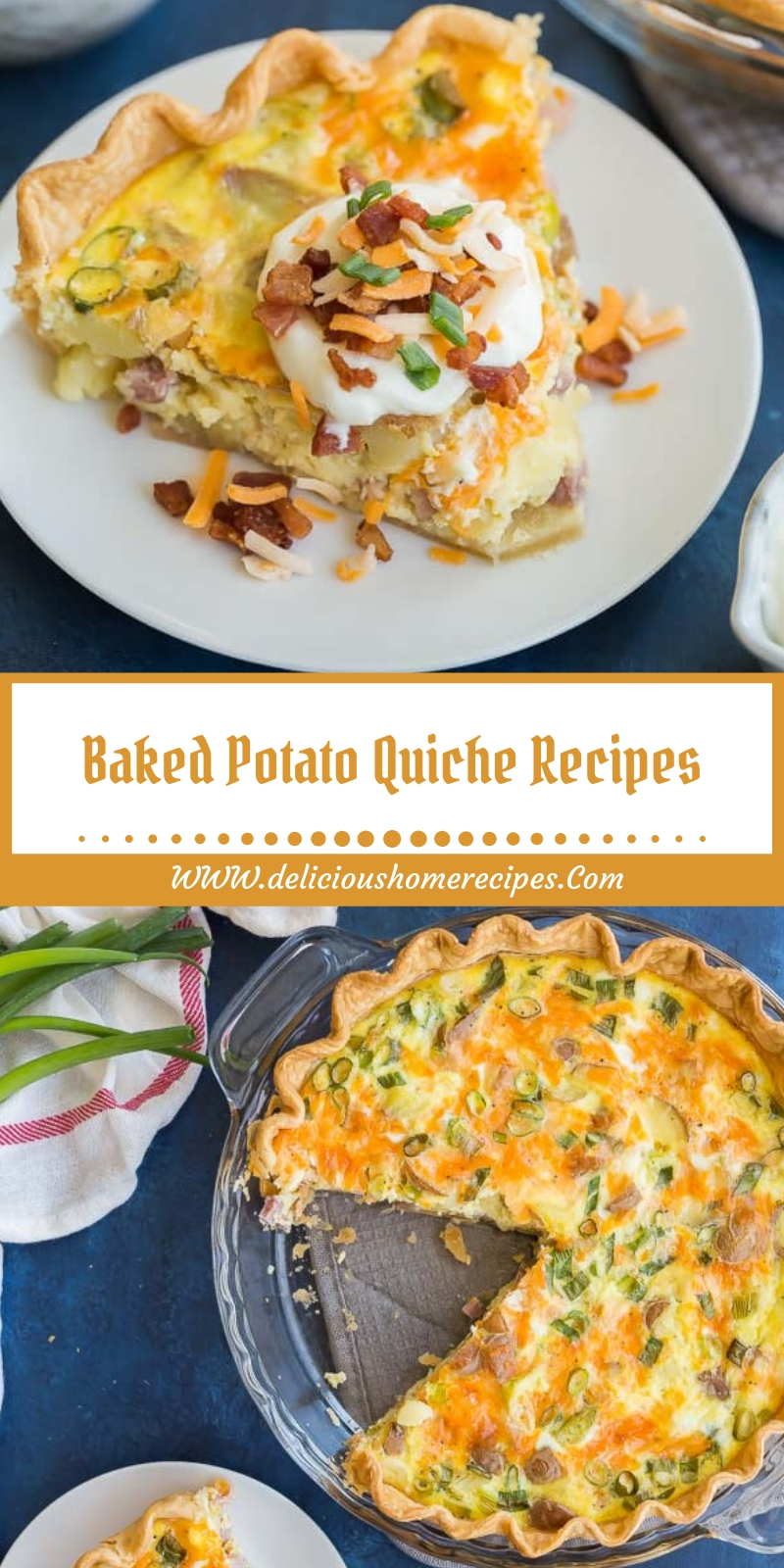 Baked Potato Quiche Recipes