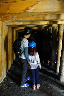 Tunnel Tour at Atlas Coal Mine, East Coulee, Alberta