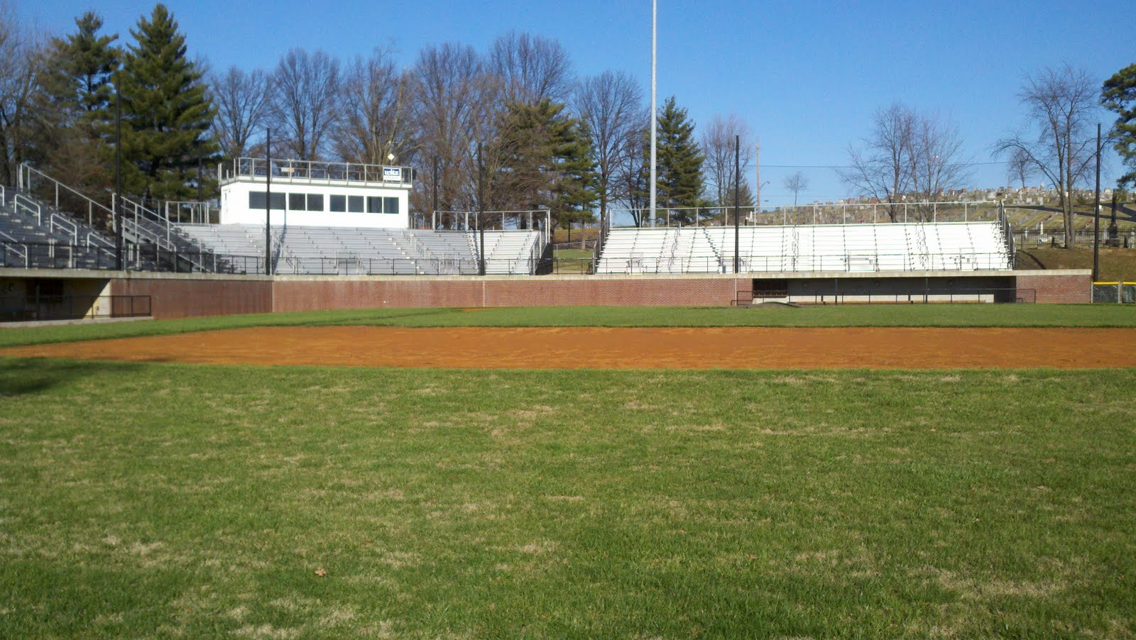 Another Facility Is The Jasper Baseball Fieldhouse Located Down Right Field Line Has Indoor Batting Cages Locker Rooms Restrooms