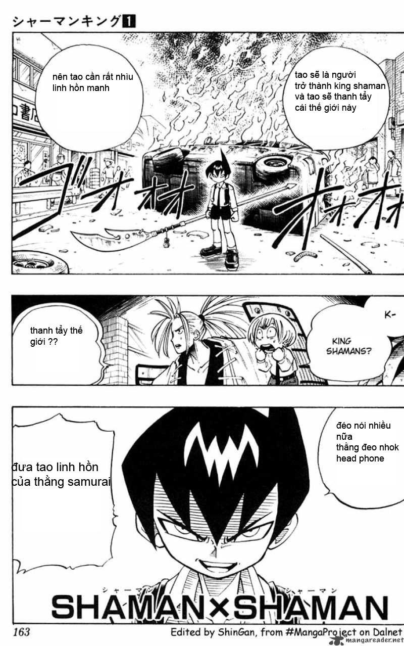 Shaman King [Vua pháp thuật] chap 7 trang 2