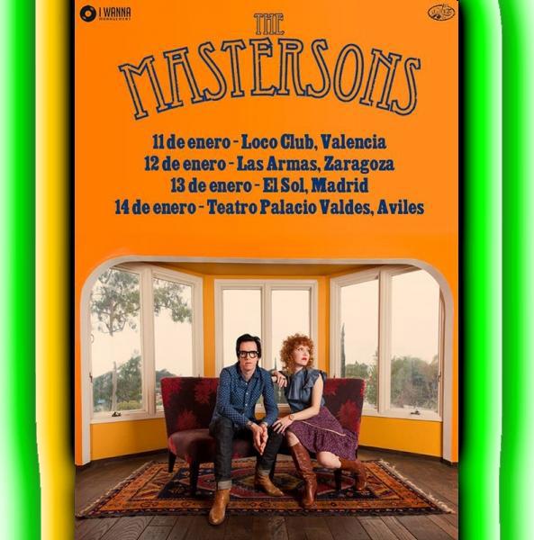 The Mastersons - Gira España 2017
