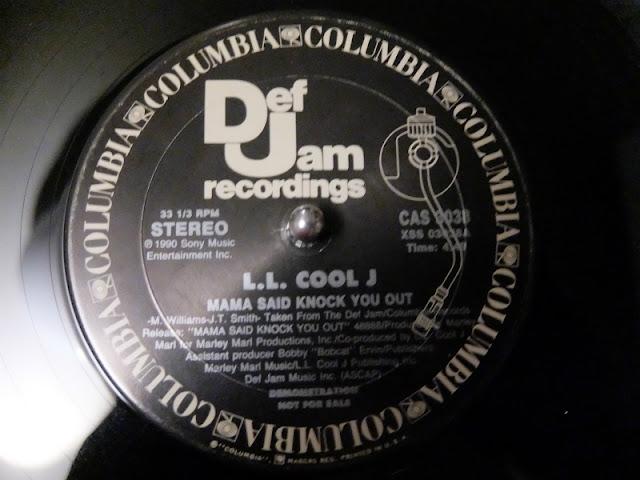 LL COOL Jのレコードの盤面の写真です。