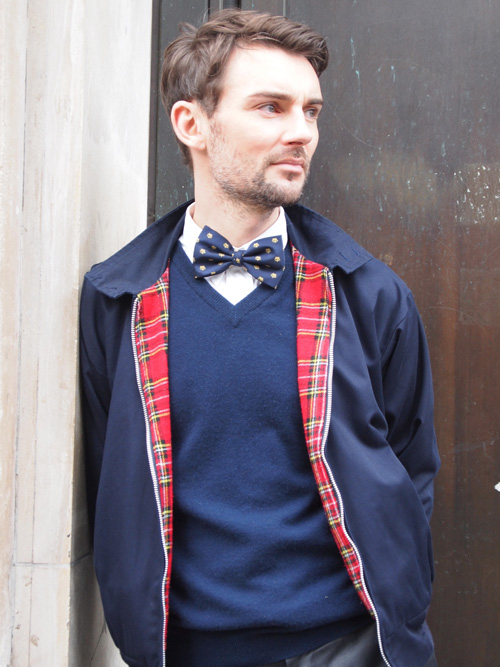 The V Neck Sweater With Bow Tie Trend Geeks Fashion