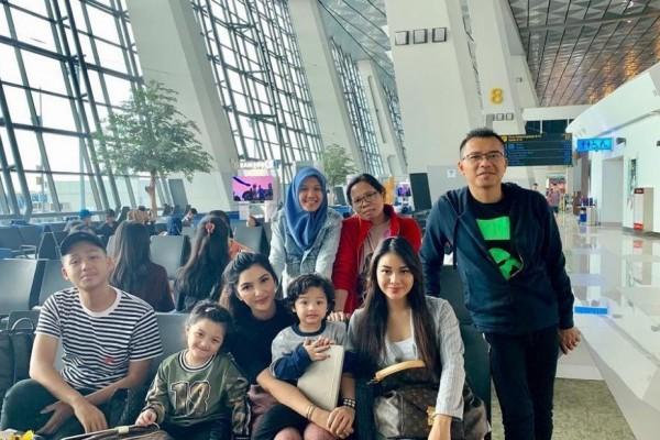 10 Potret Liburan Keluarga Anang & Ashanty ke Kanada, Ajak Asisten Lho