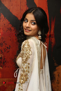 Telugu Actress Mahima Makwana Stills in White Desginer Dress at Venkatapuram Movie Logo Launch  0069.JPG