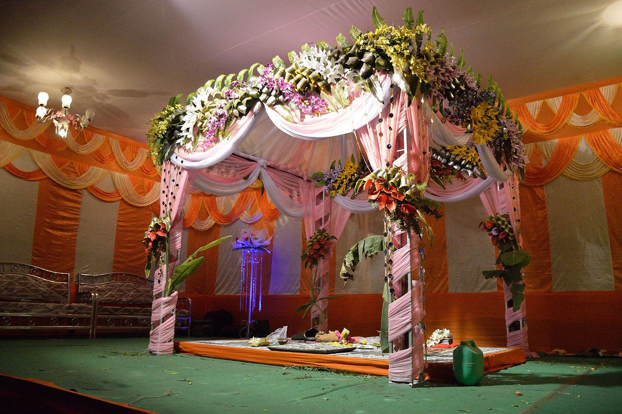 Flower Decoration Marriage Stage Decoration