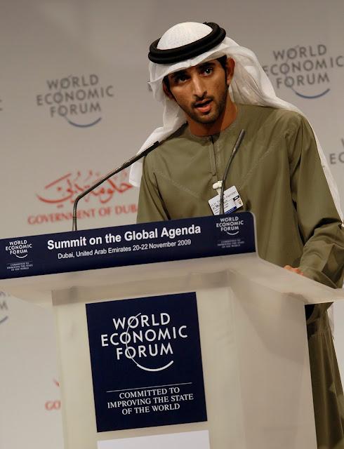 Σεΐχης Hamdan bin Mohammed al Maktoum, Ντουμπάι