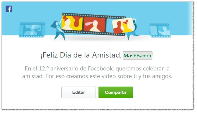 Friends Day Video Facebook - MasFB