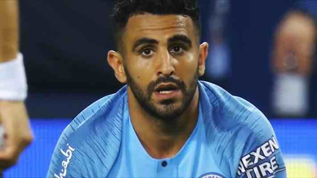 Manchester City baru Riyad Mahrez