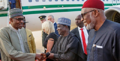 President Buhari arrives Netherland for ICC 20th Anniversary