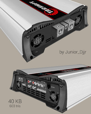 gta sa mod san modulo amplificador taramps hd 10000 sketchup zmodeler