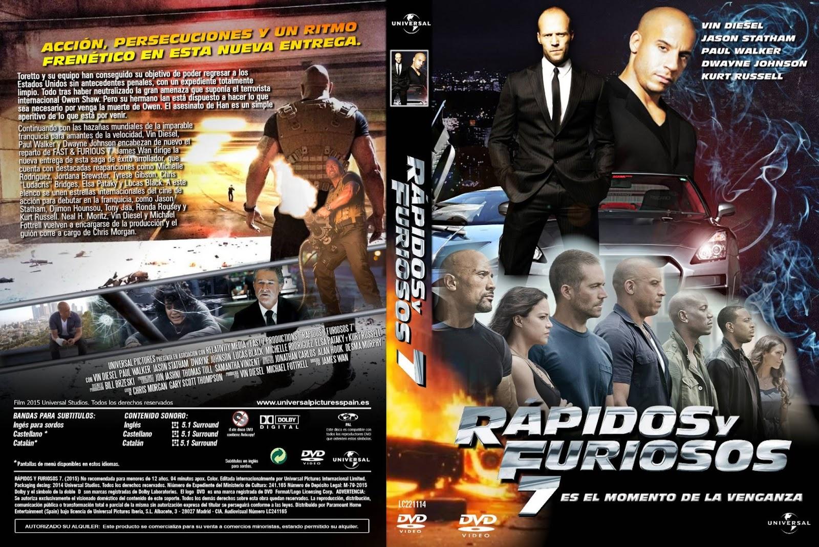 Rápidos y Furiosos 7 - CineMX