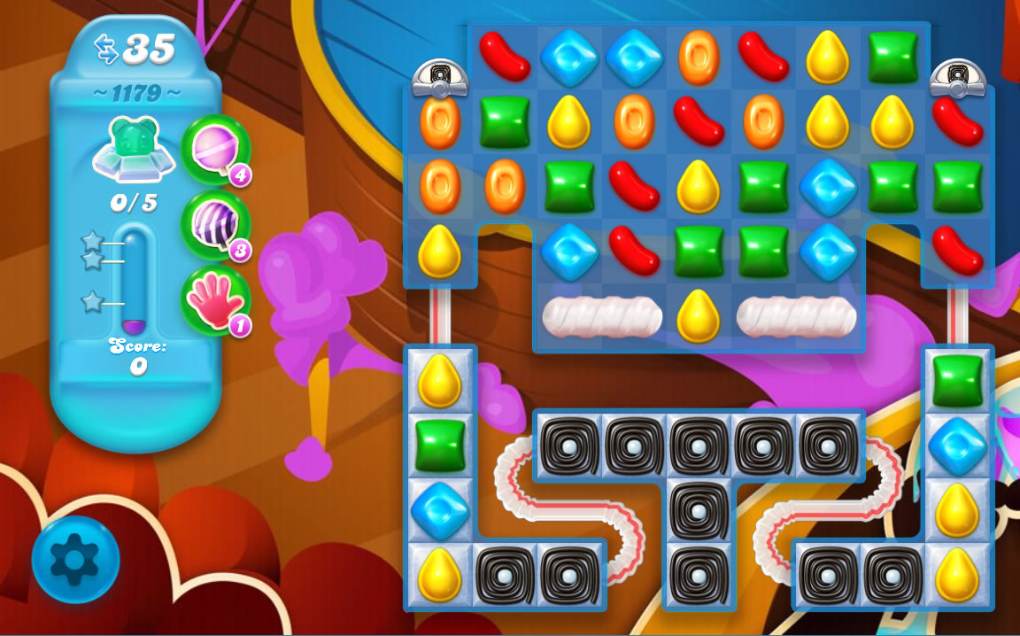 Candy Crush Soda Saga level 1179