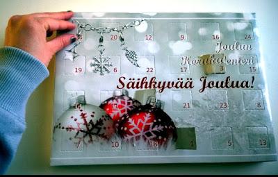 Saippuakuplia olohuoneessa- blogi, kuva Hanna Poikkilehto, joulukalenteri
