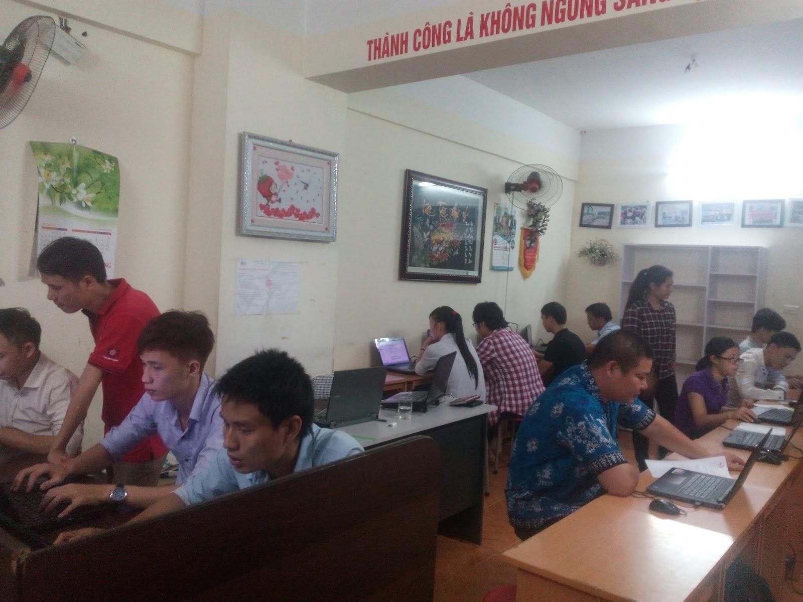 Khóa học corel tại Ba Đình