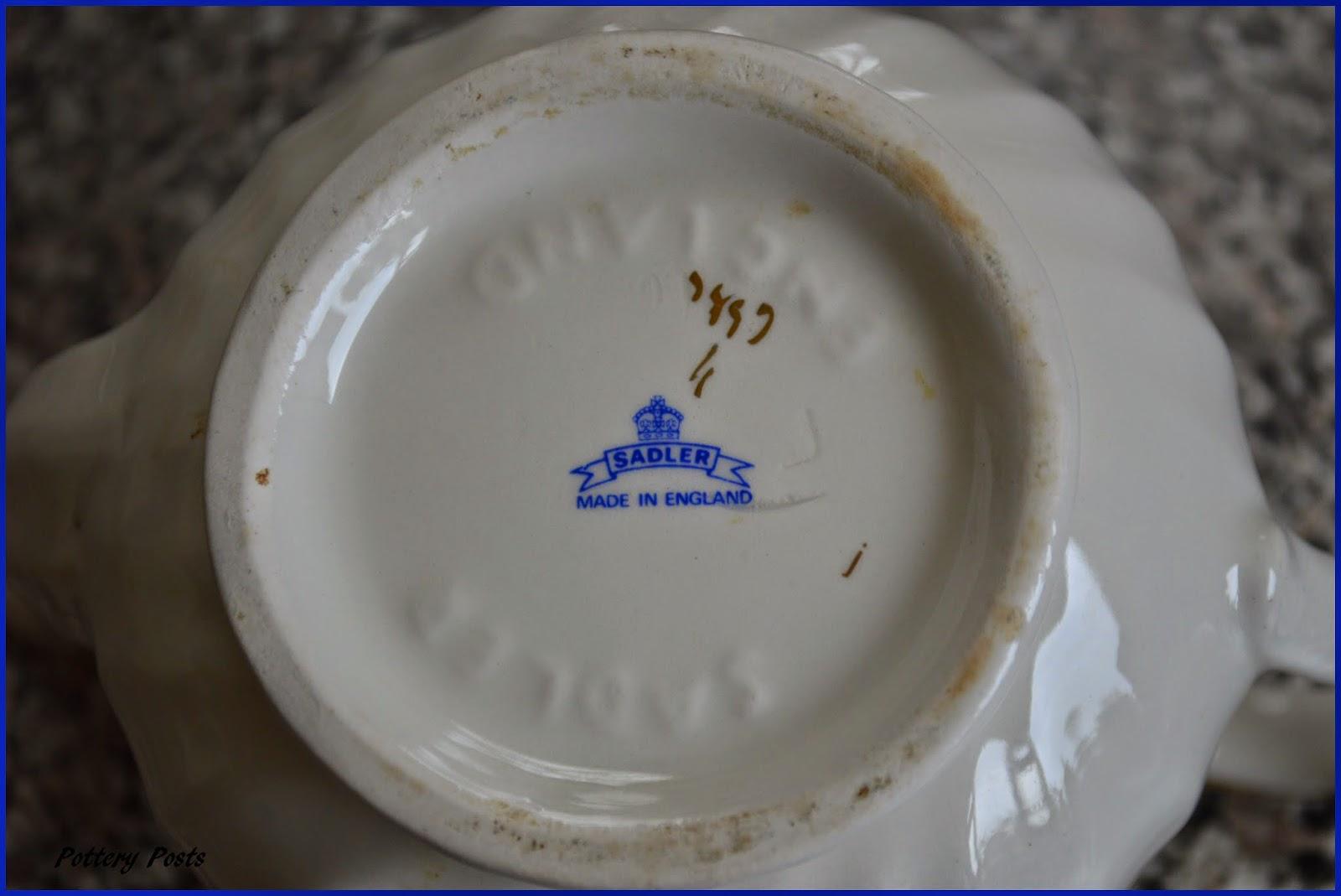 Pottery Posts Sadler