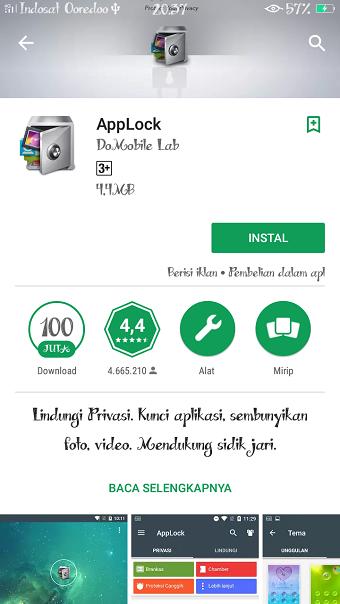 Menjaga password di hp Android dengan aman