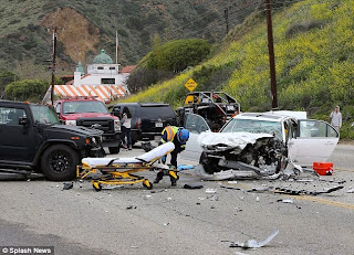 Bruce Jenner Envuelto en Accidente