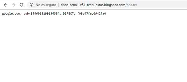 cómo poner el archivo ads.txt en blogger