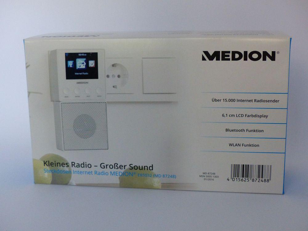 Das Medion Steckdosen Internetradio im Test | ERDBEERCHENS ...