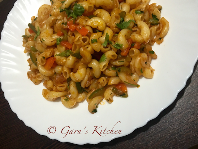 indian style veg macaroni pasta recipe | how to make veg macaroni pasta at home | vegetable macaroni recipe