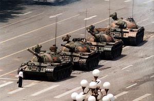 O Rebelde Desconhecido, também conhecido como O Homem dos Tanques