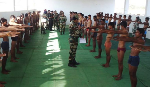 Srikakulam Army Rally, Indian Army Rally, Open Bharti Rally
