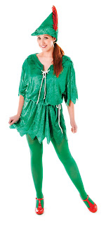 Peter Pan (Female) Costume