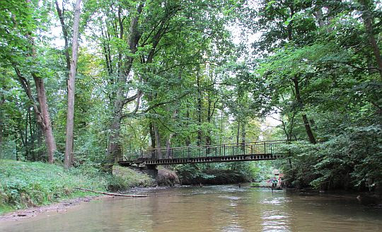 Spływ rzeką Wieprz.