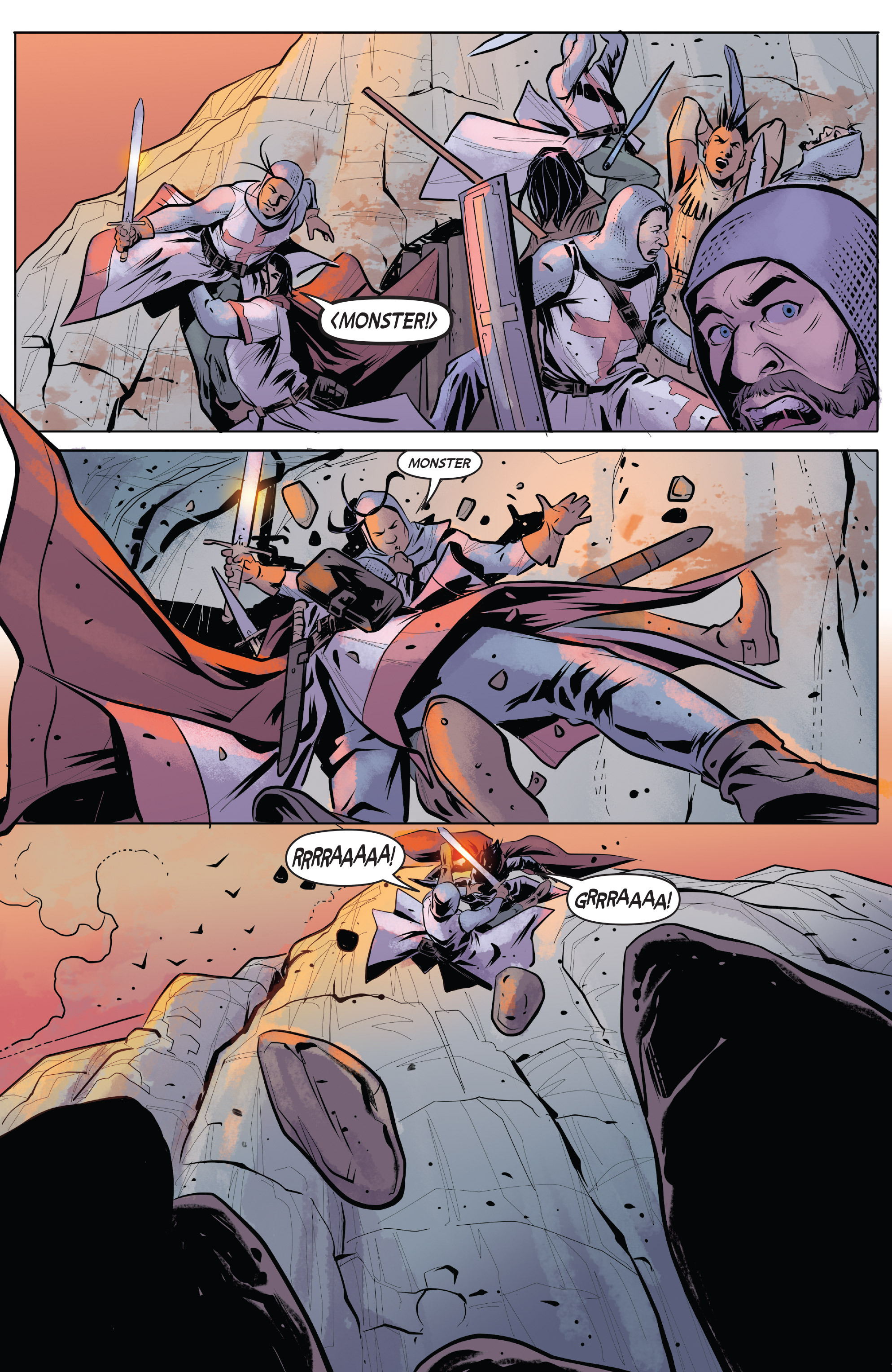 Read online Turok: Dinosaur Hunter (2014) comic -  Issue # _TPB 1 - 87