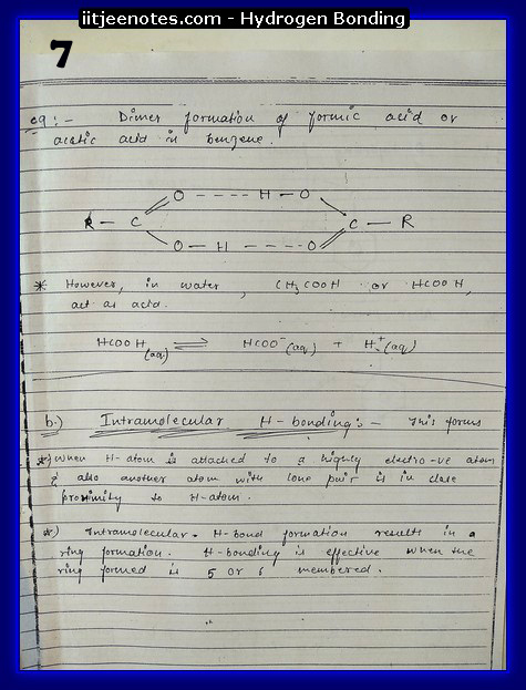 hydrogen bonding7