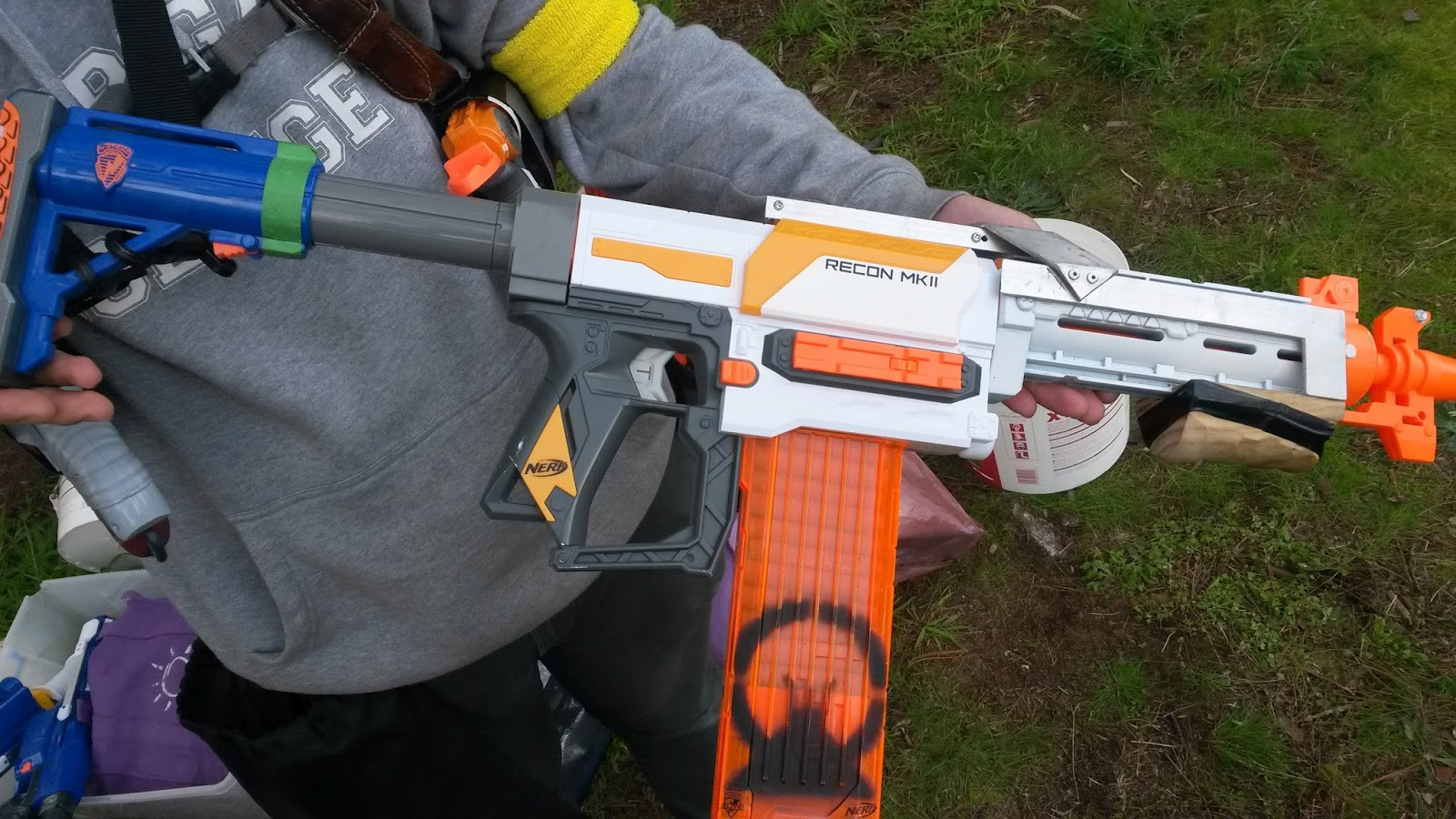 Outback Nerf Mlf Game Report 21 8 16 Rain Black Hawk Down