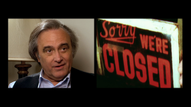 Joe Dante at the end of Machete Maidens