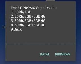 Cara Daftar Paket Internet Murah Super Kuota Telkomsel 2018
