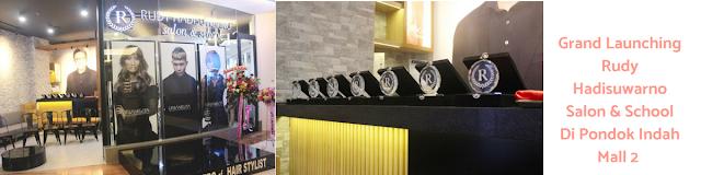 Grand Launching Rudy Hadisuwarno Salon & School Di Pondok Indah Mall 2