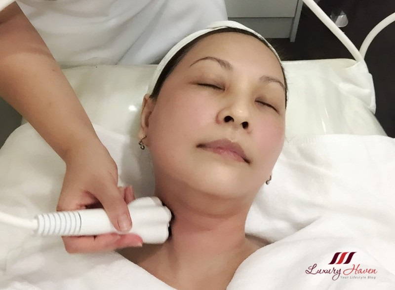 beauty blogger reviews venus viva diamond polar facial