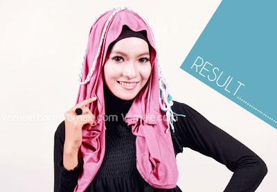 Model Hijab Pashmina Kaos Modern dan Tutorial Terbaru
