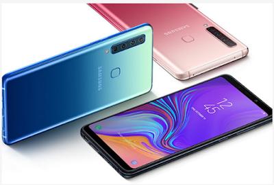 Spesifikasi Samsung Galaxy A9 2018: Samsung 4 kamera di bagian belakang