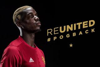 Pogba Absen di Tiga Laga Pertama Manchester United