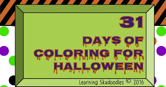 Halloween Coloring Books - a Review
