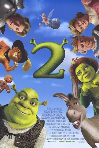 Poster of Shrek 2 (2004) 720p Hindi BRRip Dual Audio Full Movie Download