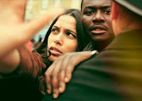 Freida Pinto and Babou Ceesay in Guerrilla 2017 Miniseries (3)